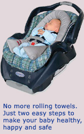 No More Rolling Towels For Your Preemie Even The Best Baby Car Seats